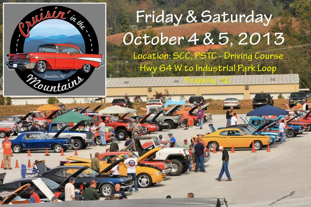2nd Annual Cruisin in the Mountains Car Show