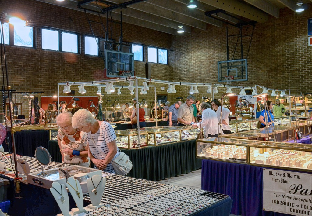 50 Annual Macon County Gemboree - last two days!