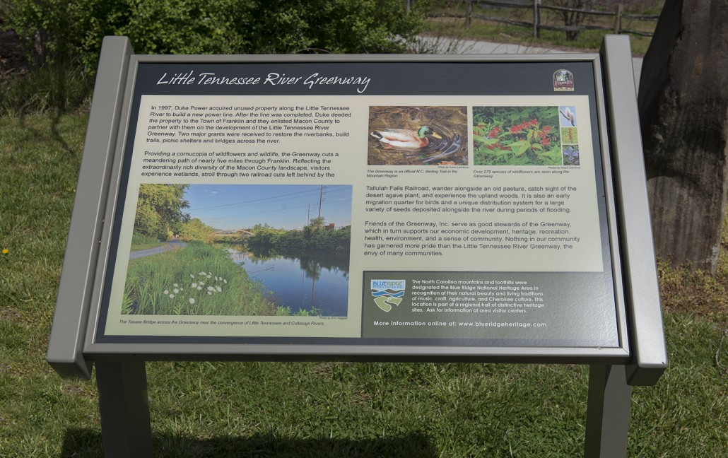 Wildlife, wild flowers and fauna are natural attractions along the LTRG